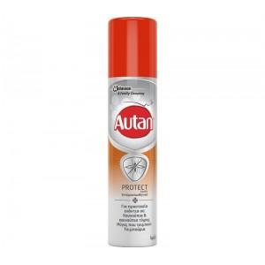Autan Protect Εντομοαπωθητικό Αερόλυμα για Κουνούπια, , Κουνούπι-Τίγρης, Μύγες & Τσιμπούρια, 100ml