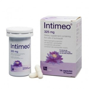 Frezyderm Intimeo 325mg Συμπλήρωμα Διατροφής με Ζώντα Στελέχη Γαλακτοβακίλλων για την Υγεία της Ευαίσθητης Περιοχής, 14caps