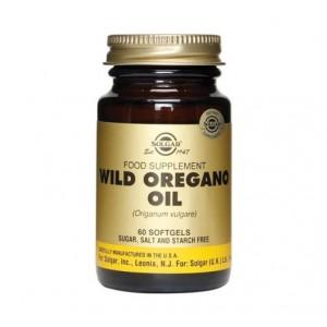 Solgar Wild Oregano Συμπλήρωμα διατροφής Oil 175 mg 60Softgels
