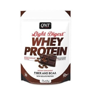 QNT Light Digest Whey Protein Belgian Chocolate 500gr