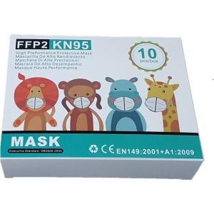Παιδική Μάσκα μιας Χρήσης FFP2 10τμχ