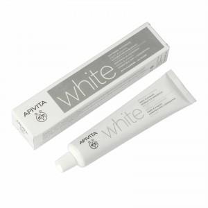 Apivita Natural Dental Care  White με μαστίχα & πρόπολη (75ml)