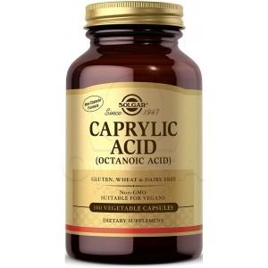 Solgar Caprylic Acid (Octanoic Acid) 100 veg. caps