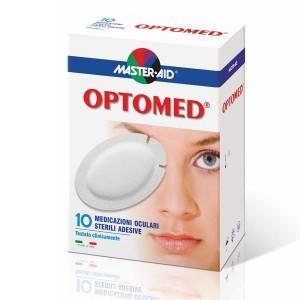 Master Aid Optomed Super Οφθαλμικές Αυτοκόλλητες Γάζες 10τμχ