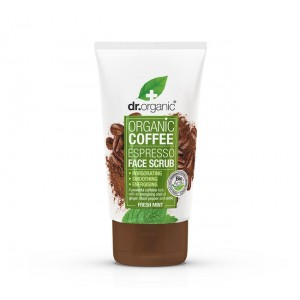 Dr. Organic Coffee Espresso Face Scrub 125ml