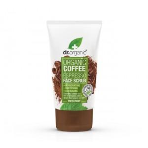 Dr. Organic Coffee Espresso Face Scrub 125ml