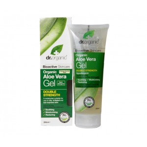 Dr. Organic Aloe Vera Gel Double Strength, 200 ml