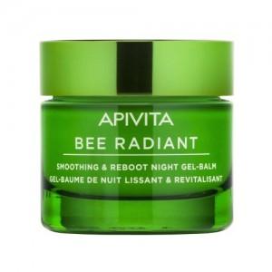 Apivita Bee Radiant Gel-Balm Νύκτας, 50ml