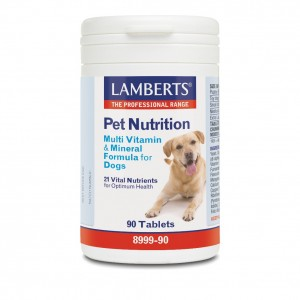 Lamberts Pet Nutrition Multi Vitamin & Mineral Formula For Dogs 90tabs
