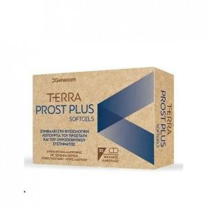 Genecom Terra Prost PLUS Συμπλήρωμα Διατροφής για τον Προστάτη, 30cap