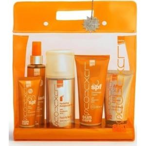 INTERMED Luxurious Sun Care High Protection Πακέτο Αντηλιακής Προστασίας με Υαλουρονικό Οξύ