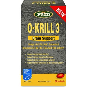 MedMelon O-Krill 3 (Brain Support) 850mg 60caps