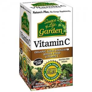 Nature's Plus, Source of Life Garden Vitamin C, 60 caps