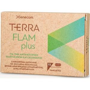 Genecom Terraflam (Terra Flam Plus) Anti inflammatory 15caps
