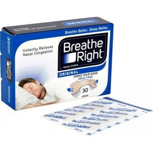 Breathe Right - Medium - Ταινίες για ρινική απόφραξη, 30 τμχ
