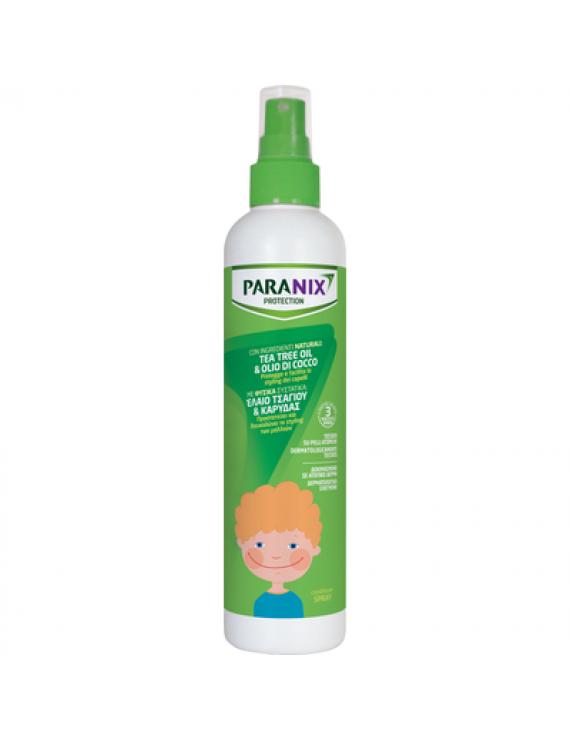 Paranix Protection Spray Αντιφθειρικό Μαλακτικό Σπρέι με Έλαιο Τσαγιού & Καρύδας για Αγόρια, 250ml
