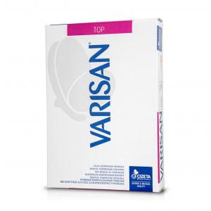 Varisan Top Θεραπευτικές Κάλτσες Ριζομηρίου  Δάκτυλα Κλειστα Normal Μπεζ ( 1Ζεύγος ) ΣΙΛΙΚΟΝΗΣ Class I