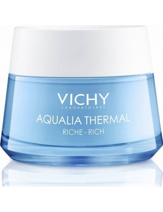 Vichy AQUALIA THERMAL Rehydrating Rich Cream Πλούσια Κρέμα για 48ωρη Eνυδάτωση για Ξηρή / Πολύ Ξηρή επιδερμίδα, 50ml