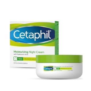 Cetaphil Moisturizing Night Cream Ενυδατική Κρέμα Νύχτας 48ml