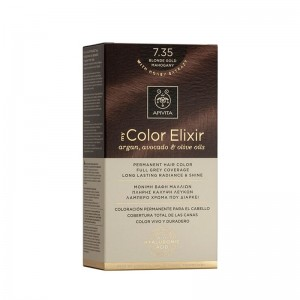 Apivita My Color Elixir No 7.35 Ξανθό Μελί Μαόνι