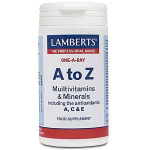 LAMBERTS Οne-a-Day A to Z Πολυβιταμίνη & Μέταλλα 30 ταμπλέτες