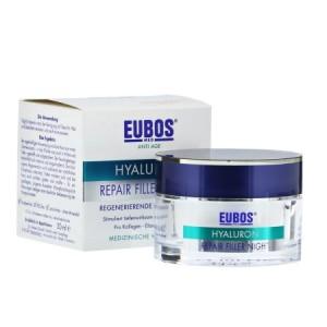 Eubos Hyaluron Perfect Night Repair Αντιρυτιδική Κρέμα Νύχτας 50 ml.