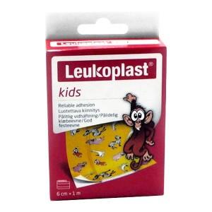 Leukoplast Kids Zoo Παιδικά Επιθέματα, 6cm x 1m