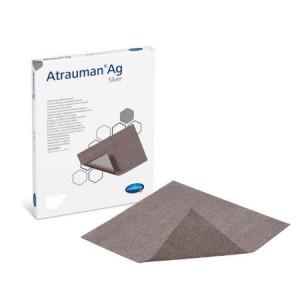 Hartmann Atrauman Ag επίθεμα με αλοιφή και προσθήκη αργύρου 10x10cm 10 τεμάχια
