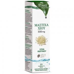 Power Health Μαστίχα Χίου με Stevia 20 Αναβράζοντα Δισκία