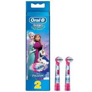 ORAL-B - Stages Power Frozen Ανταλλακτικά Ηλεκτρικής Οδοντόβουρτσας | 2τμχ