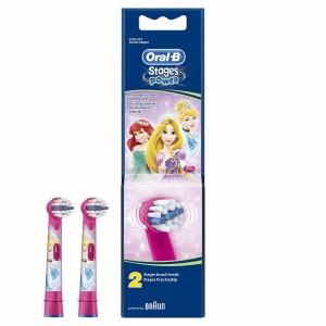 Oral-B Stages Power Disney Princess Ανταλλακτικές Κεφαλές 2τμχ.