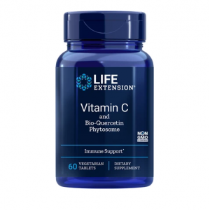 Life Extension VITAMIN C Bio-Quercetin Phytosome 1000mg 60vegetarian Tablets