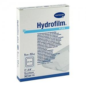 Hartmann Hydrofilm Plus 5x7,2cm Αυτοκόλλητο Διάφανο Επίθεμα 5τμχ