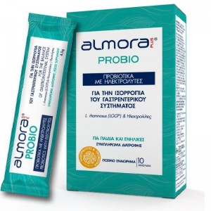 ALMORA Probio Προβιοτικά με Ηλεκτρολύτες 10 Φακελίδια