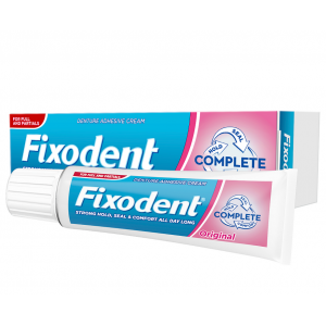 Fixodent Complete Original Στερεωτική Κρέμα Τεχνητής Οδοντοστοιχίας, 47gr