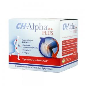 CH-ALPHA PLUS Fortigel Υδρολυμένο Κολλαγόνο μια μοναδική συλλογή πρωτεϊνών και αμινοξέων, 30 amp x 25 ml