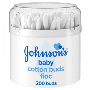 Johnson's Μπατονέτες Βαμβακιού, 200 τεμάχια