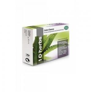 Esi 10 Herbs Colon Cleanse Συμπλήρωμα Διατροφής για τη δυσκοιλιότητα, 30tabs