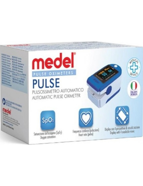 Medel Oxygen PO01 Οξύμετρο Δακτύλου 1τμχ