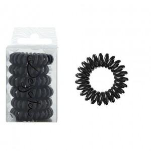 Dessata Hair Ties Black Λαστιχάκια Μαλλιών 6 Τεμάχια