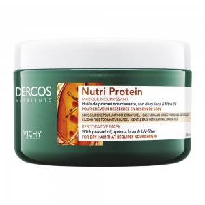 Vichy DERCOS NUTRIENTS Nutri Protein Μάσκα για Ξηρά Μαλλιά, 250ml