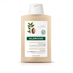 Klorane Shampoo With Cupuacu Butter Σαμπουάν Για Πολύ Ξηρά Μαλλιά Με Βούτυρο Κουπουασού, 400ml