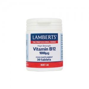 LAMBERTS - Vitamin B12 1000μg - 30tabs