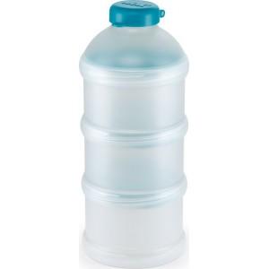 NUK Milk Powder Dispenser Δοσομετρητής σκόνης γάλακτος Θήκη για 3 δόσεις ΓΑΛΑΖΙΟ