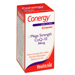 Health Aid CONERGY Q10,30mg, 30 κάψουλες