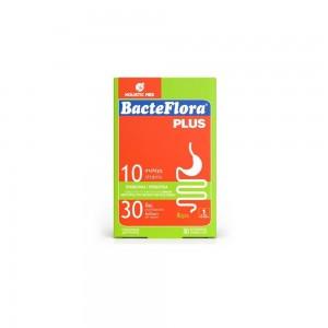 BacteFlora Plus Συνδυασμός υψηλής συγκέντρωσης Προβιοτικών ευρέως φάσματος & Πρεβιοτικού, 30 vcaps