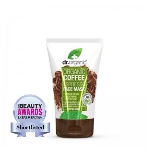 Dr. Organic Coffee Espresso Face Mask with Fresh Mint Αναζωογονητική Μάσκα Προσώπου, 125ml