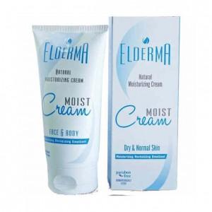 Elderma Moist Cream Φυσική Ενυδατική Κρέμα για Ξηρό/Κανονικό Δέρμα 150ml
