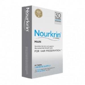 Nourkrin Man 60 caps | Συμπλήρωμα Διατροφής για την Πρόληψη & Αντιμετώπιση της Ανδρικής Τριχόπτωσης