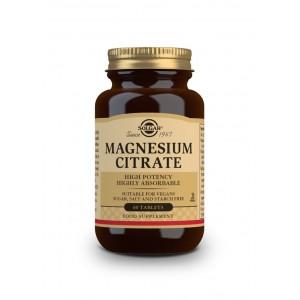 Solgar Citrate Magnesium High Potency 60 tabl 200mg